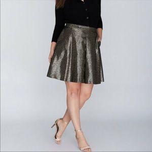 Lane Bryant Flare Circular Formal Skirt -F24